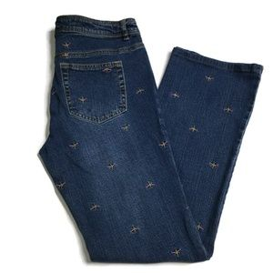 Lilly Pulitzer Women Dragonfly Main Line Fit Jeans